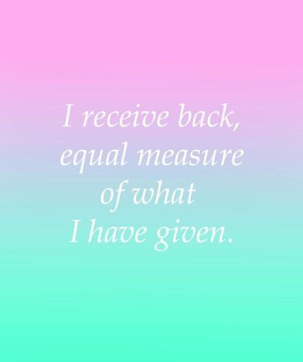 I_Receive_Back_Equal_Measure