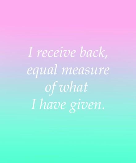 I_Receive_Back_Equal_Measure
